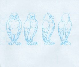 Deadly Desire - Hawk Model Sheet (early)