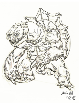 "My 1st attempt at an original ""Monster Hunter"" creature."