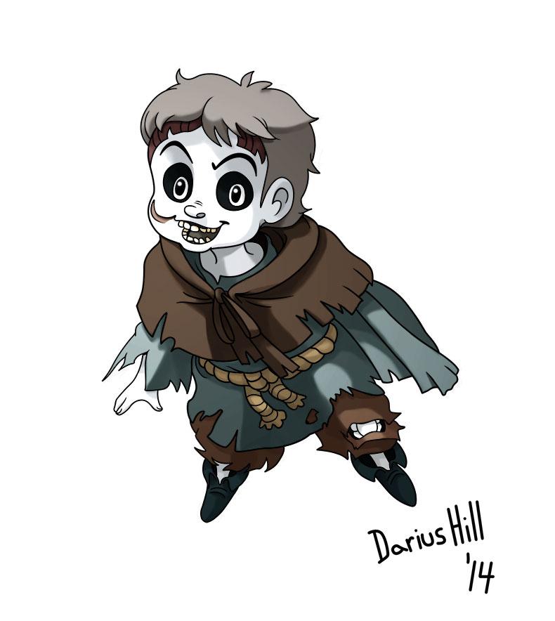 Darius the Ghost