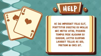 Scientific Games - Card Sharks - Help Screen