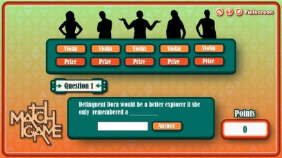 Scientific Games - Match Game - Answer Screen