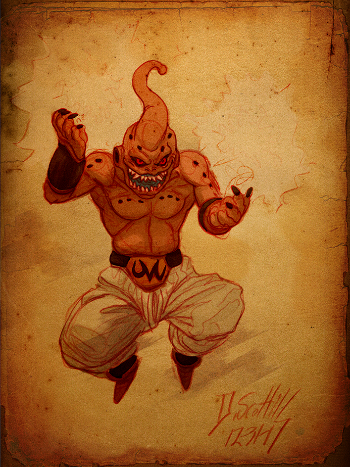 Djinn_of_Chaos_Majin_Buu_@burntmoth19